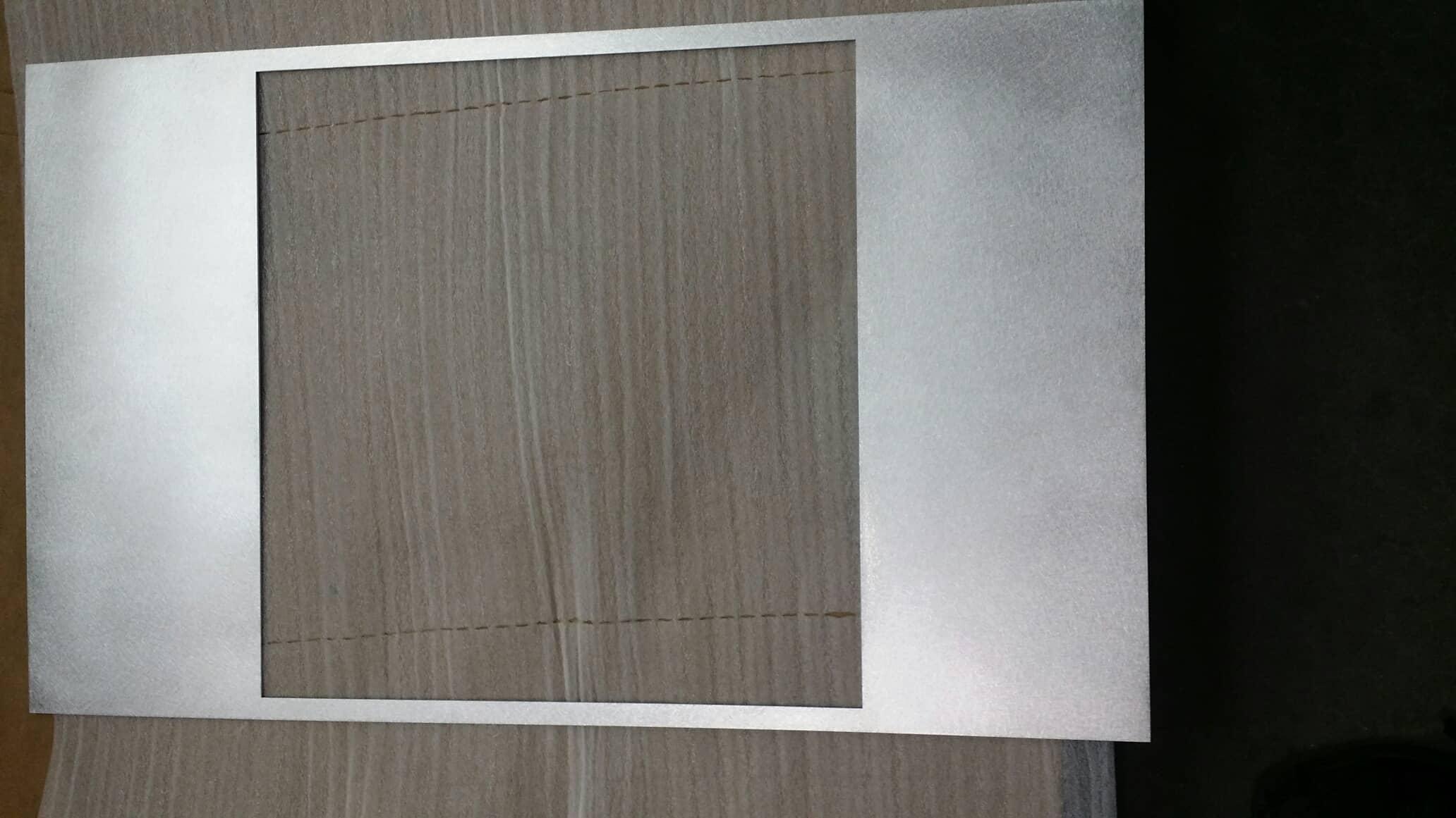 custom laser cut metal frame