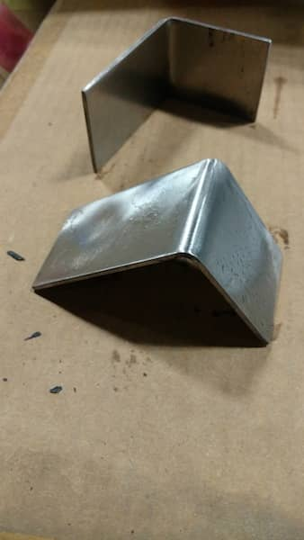 Steel bracket angle corner guard custom made