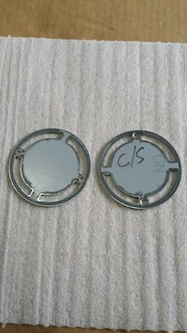 Stainless Steel Circles with cut-outs