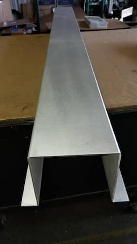 Aluminum Hat-Channel