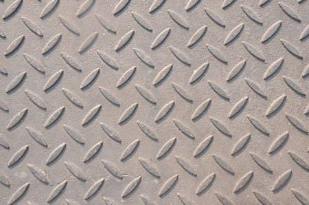 Steel Diamond tread plate