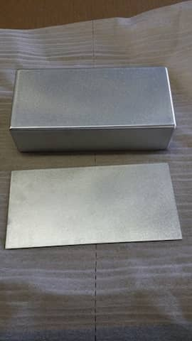 Aluminum Box and rectangle