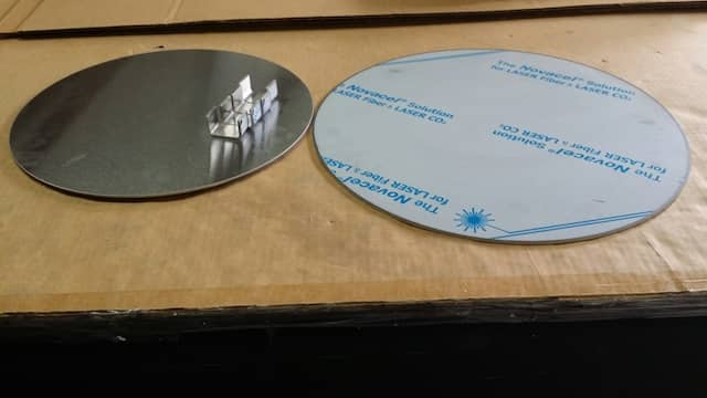 Custom made circle sheet metal