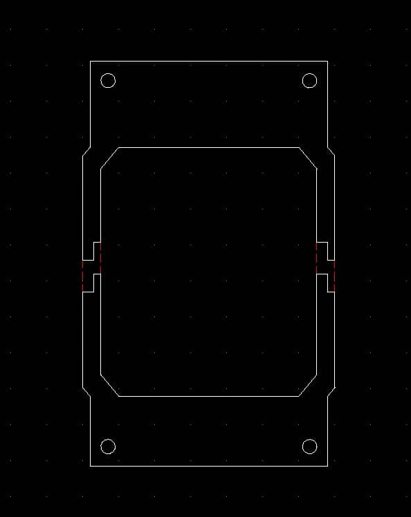 CAD File for a bracket CPU cooler Stainless Steel