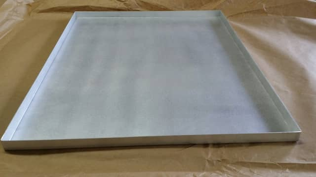 Aluminum Tray box, laser cut custom made