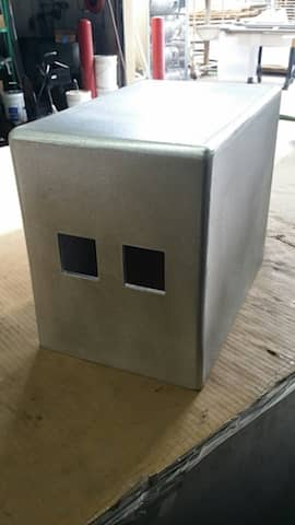 Custom Made Aluminum Box