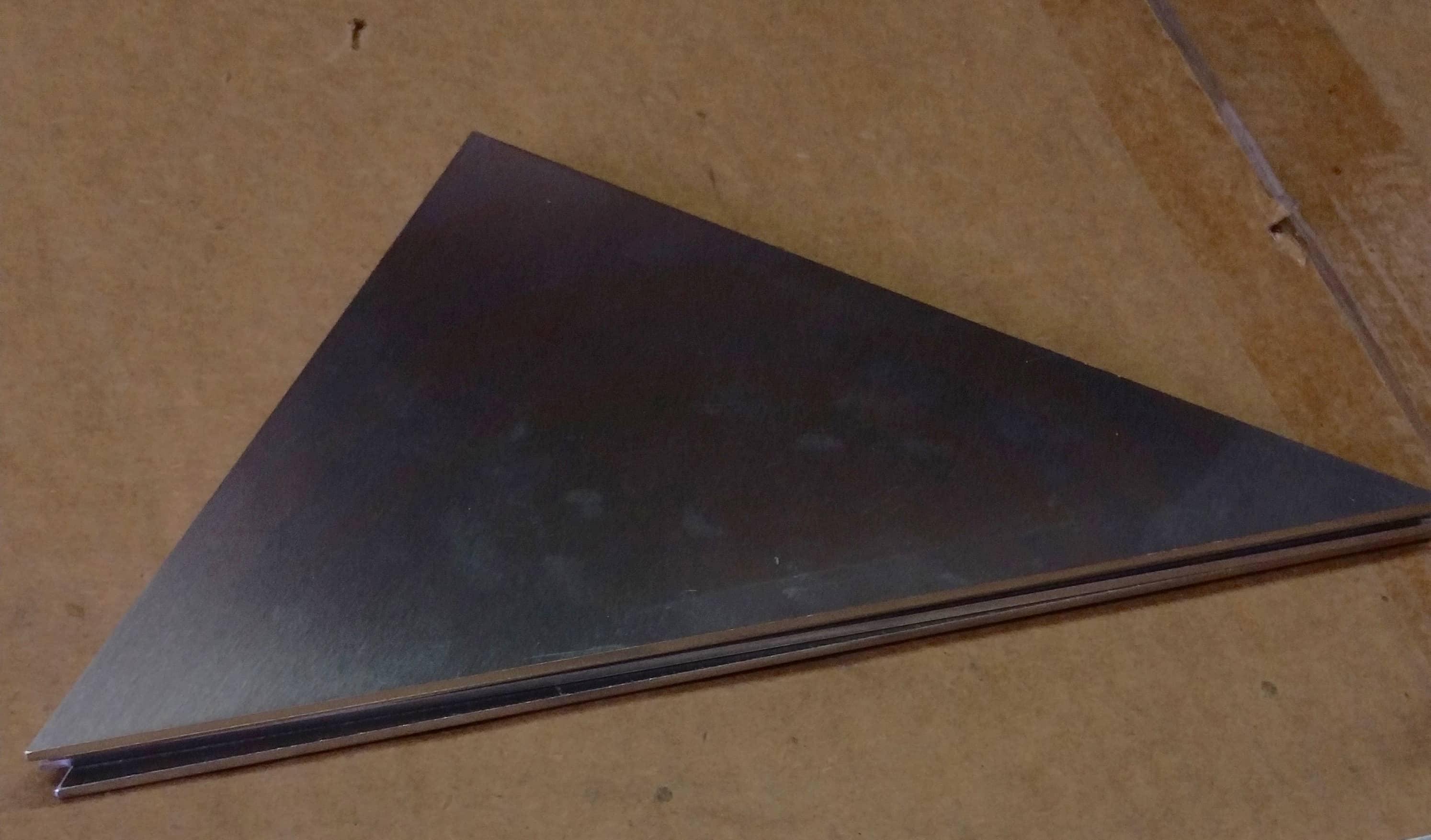 Online Metal, Triangle, Steel, sheet metal, ordered online