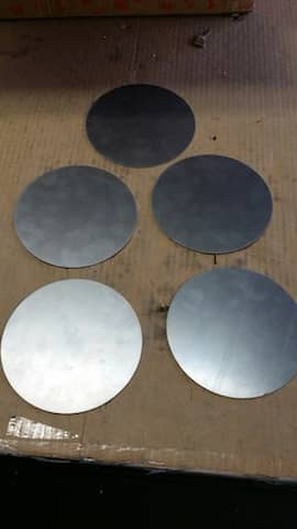 cutting Sheet Metal Circle