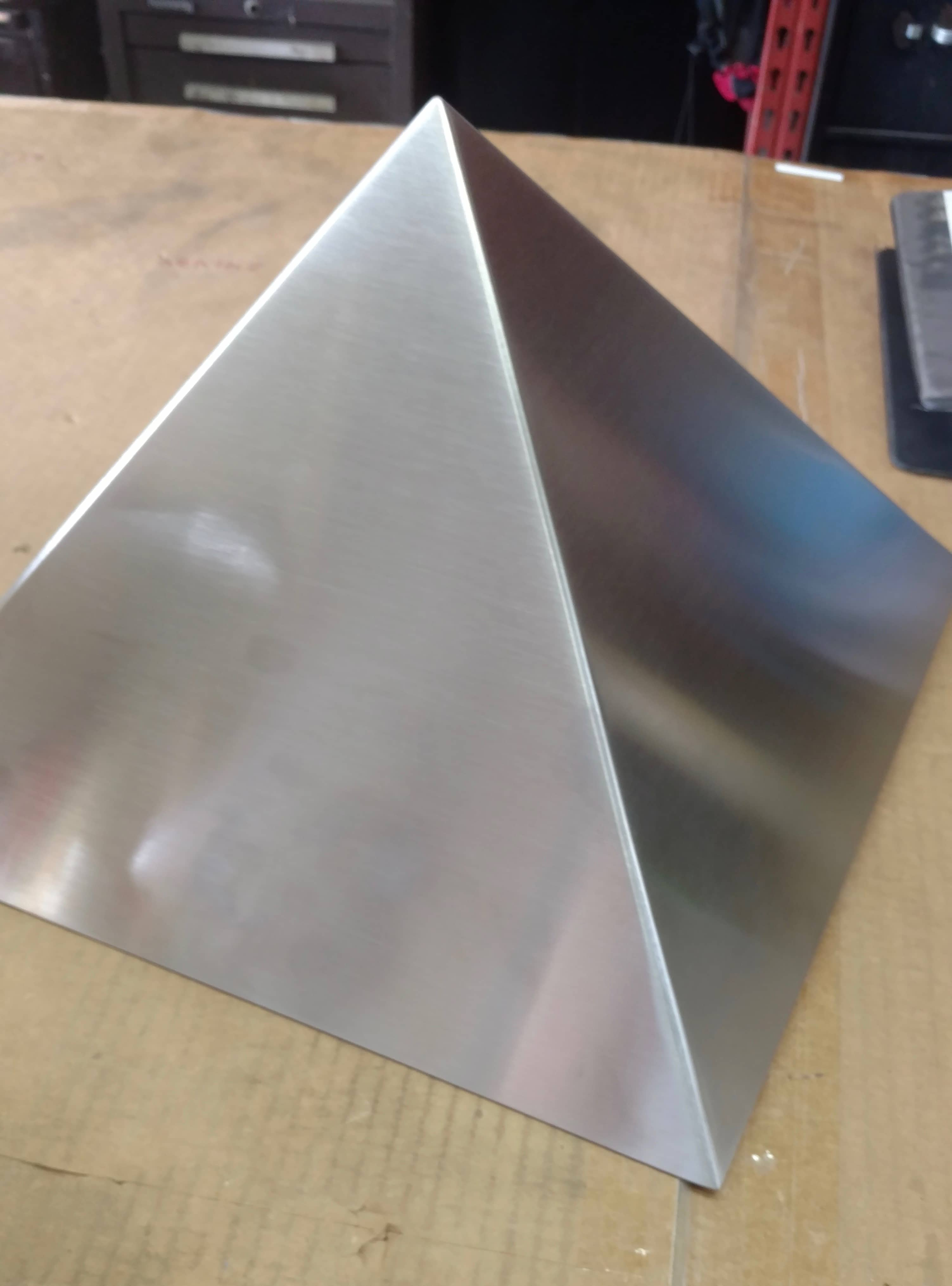 Awesome Stainless Steel Pyramid Do It Yourself Project