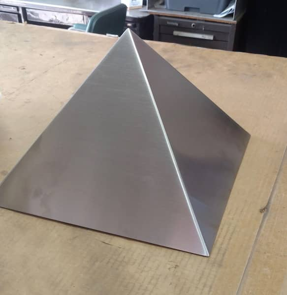 Stainless Steel Pyramid