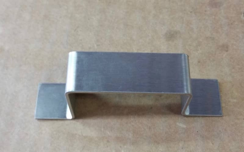 Aluminum Hat Channel small