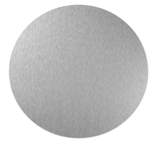 custom cut sheet metal aluminium circle