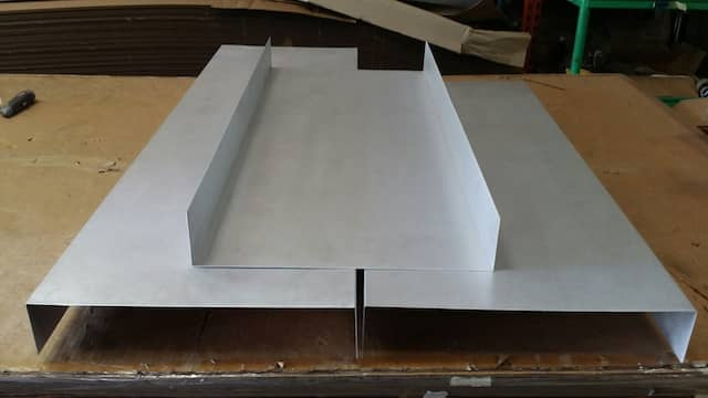 carbon steel - U-channel