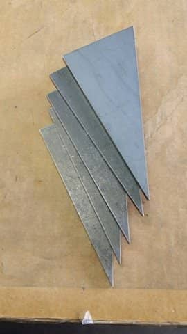 Steel Right Triangle
