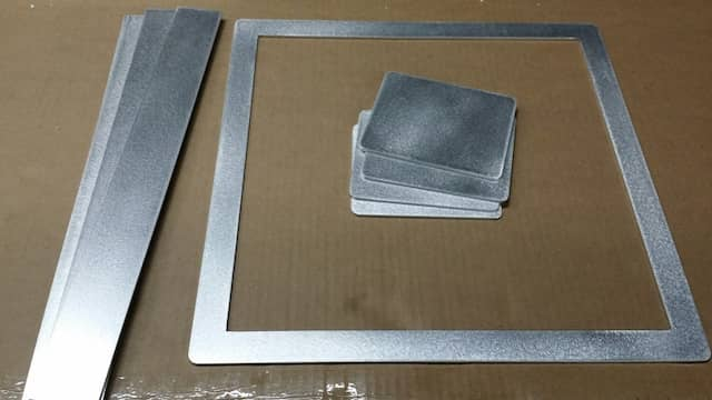 Aluminum Laser Cut Rectangle Frame Square