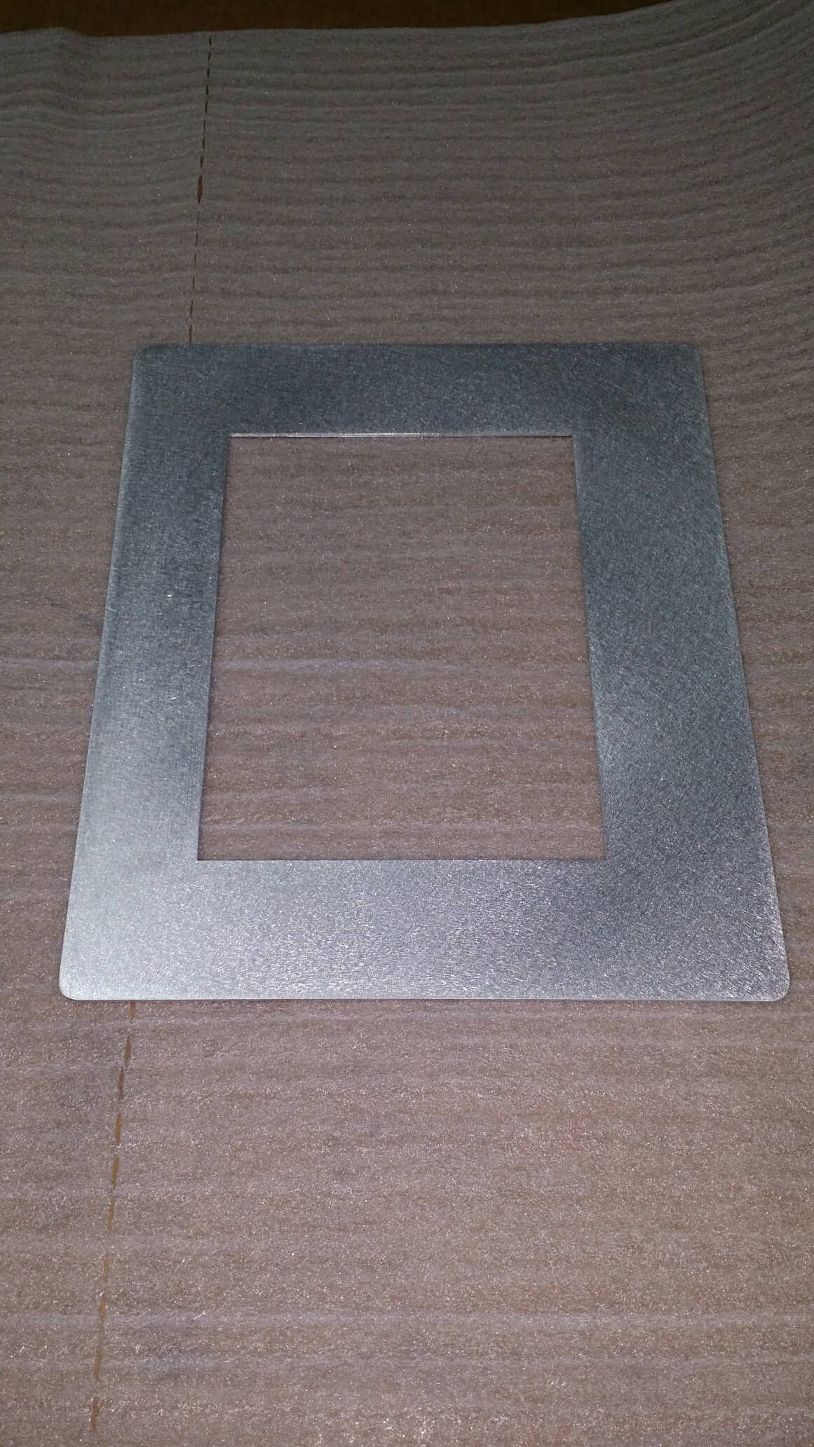 custom cut metal frame