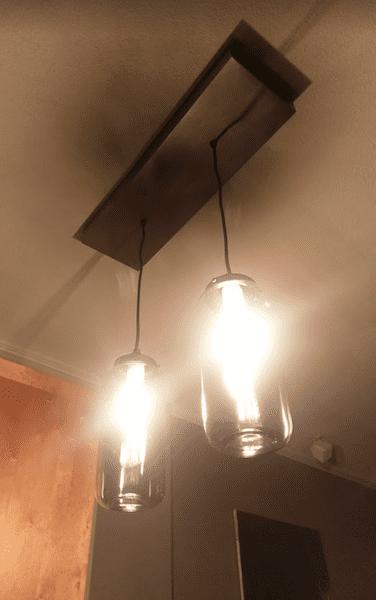Custom tray / box steel, customer design lamp
