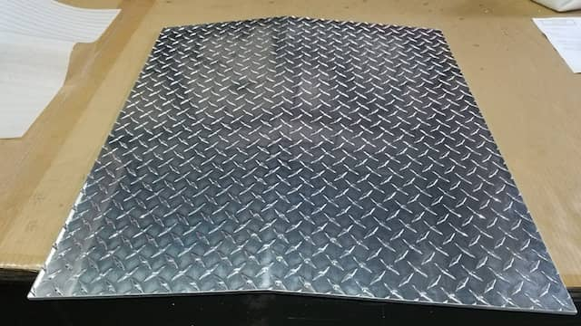 Aluminum Diamond Plate Ramp