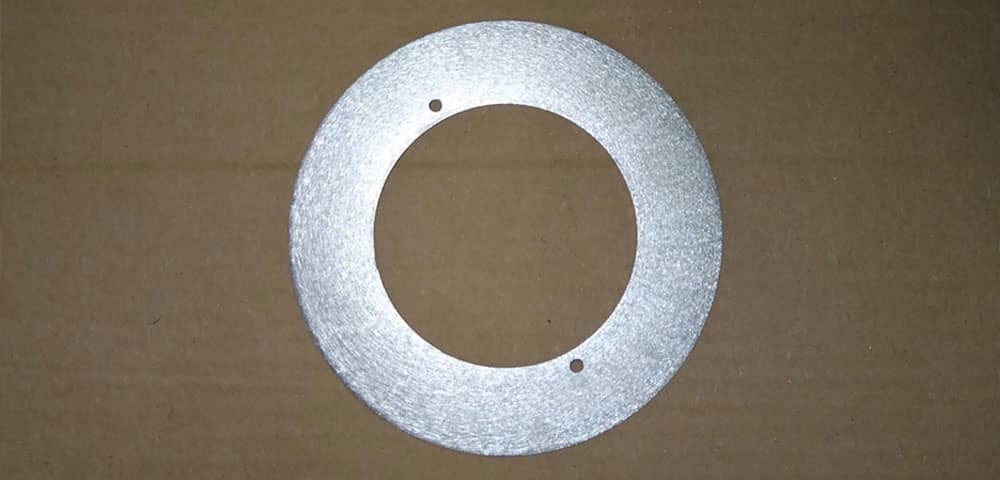 Aluminum Ring with custom holes