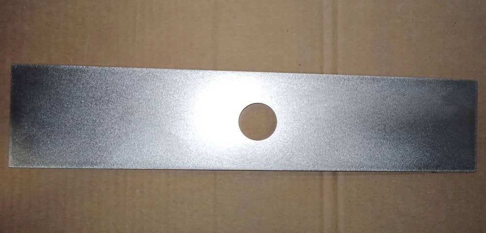 Aluminum Rectangle with centered hole