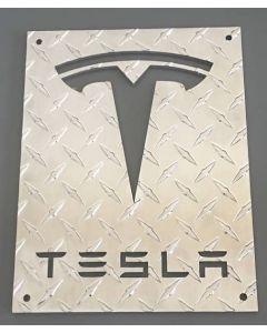 Metal Tesla Logo / Sign large