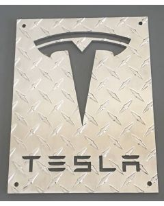 Laser Cut Tesla Sign (X-large)