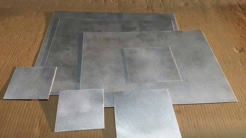 Custom Laser Cut Rectangles