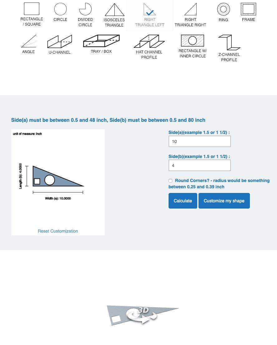 Right Triangle Left