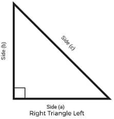 Right Triangle Left metalscut Demo Image