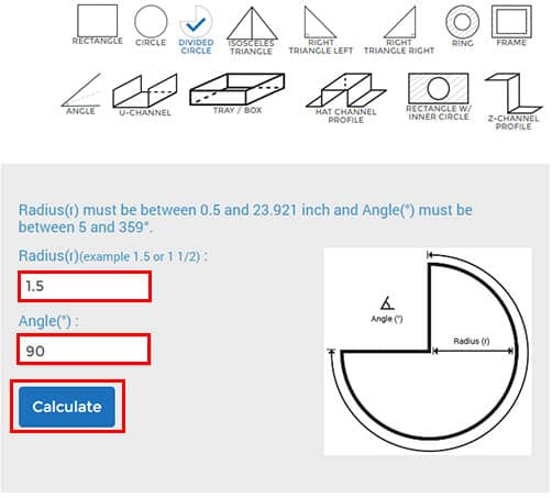 4 Easy steps to configure your metal circle