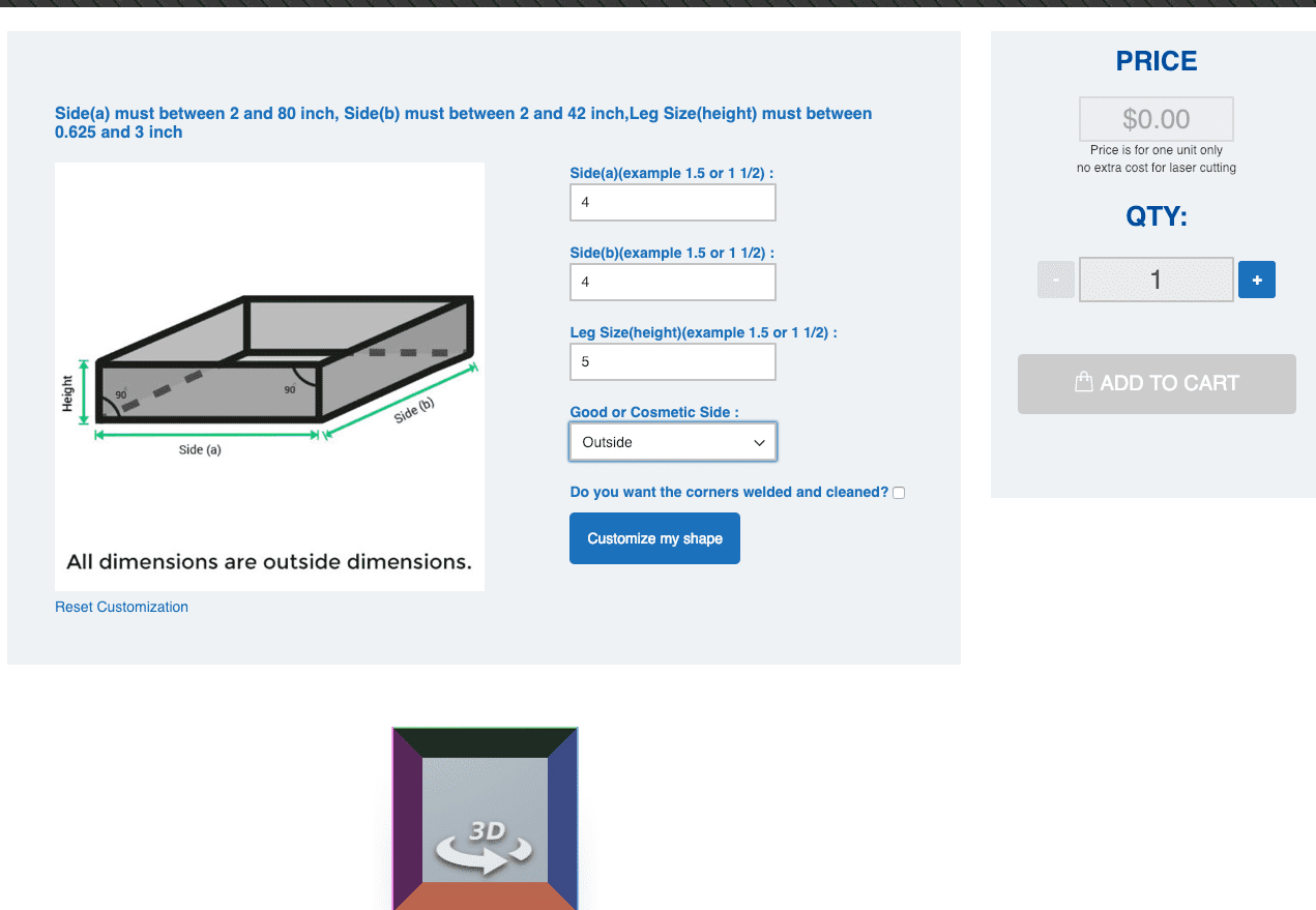 Ordering Custom Cut Sheet Metal Just Got Even More Intuitive