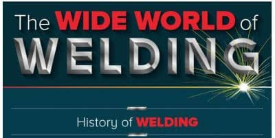 Exploring the Wide World of Welding