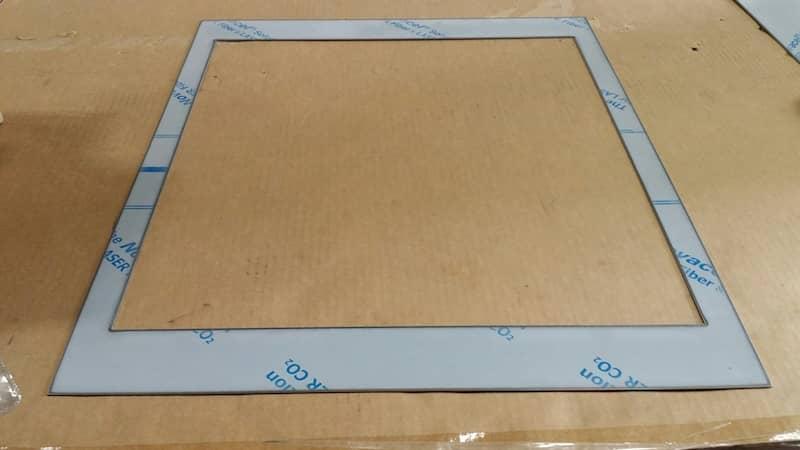 Laser Cutting Metal Frames
