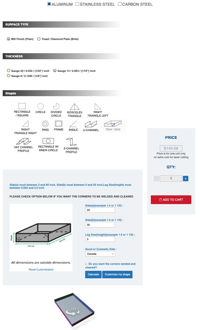 four step configuration process