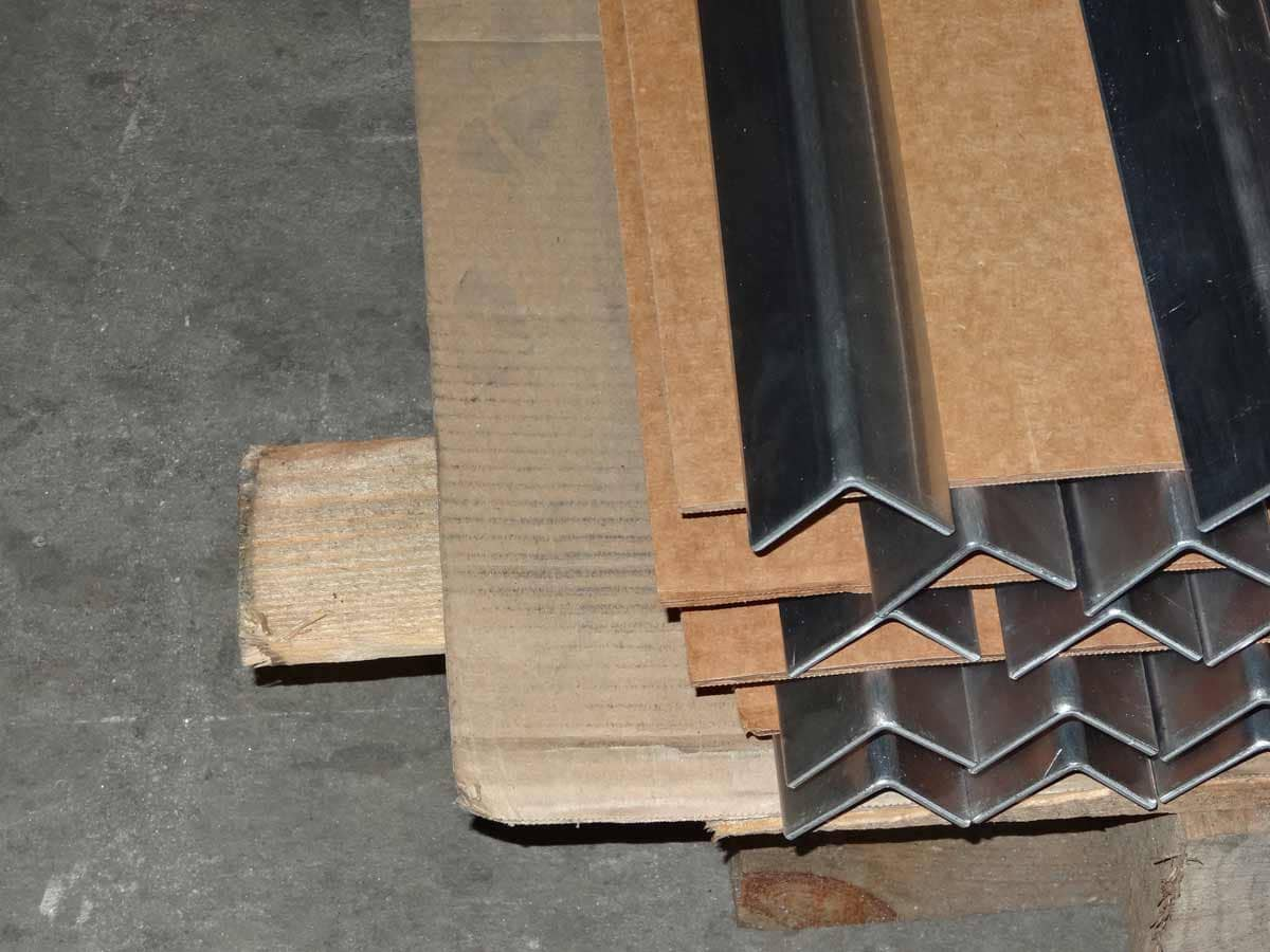 Individual custom cut sheet metal angle